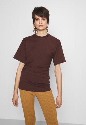 LUNA - T-shirt con stampa - noon plum