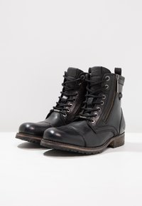 Pepe Jeans - MELTING ZIPPER NEW - Lace-up ankle boots - black - 2