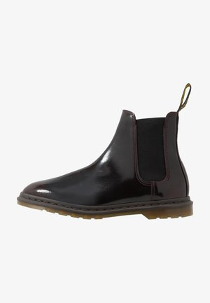 GRAEME II 8 EYE FORMAL BOOT - Støvletter - cherry red/arcadia