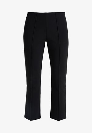 VIGGIE - Trousers - black