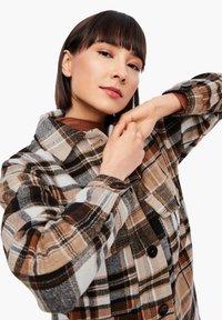 s.Oliver - Light jacket - brown check - 4