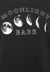Even&Odd Curvy - Print T-shirt - black - 5