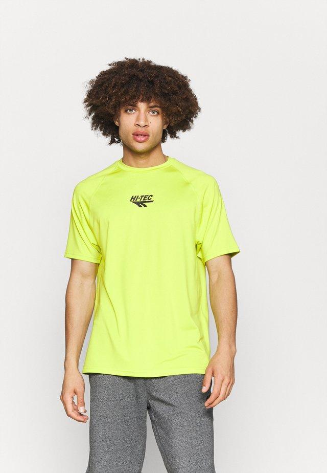 THOMAS BASIC LOGO TEE - T-shirt imprimé - lime punch