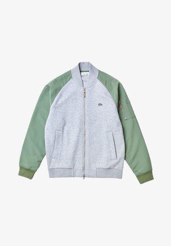 Bomberjacks - gris chine/vert