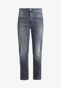 PEDAL PUSHER - Relaxed fit jeans - mid grey
