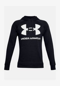Under Armour - RIVAL  - Bluza z kapturem - black - 3