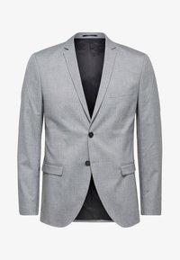 Selected Homme - Kavaj - light grey melange - 4