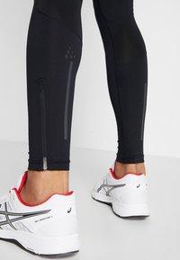 Craft - ESSENCE ZIP TIGHTS - Leggings - black - 4