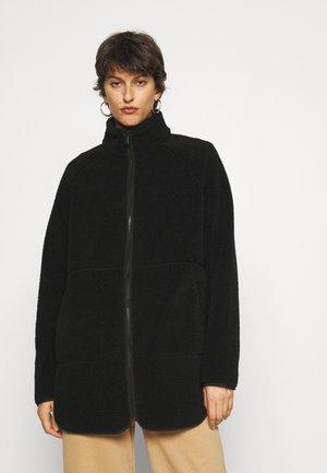 VMNINA TEDDY JACKET TALL - Short coat - black