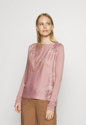 Long sleeved top - old pink