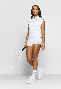 adidas Performance - CLUB - Sports shirt - white/silve/black - 1