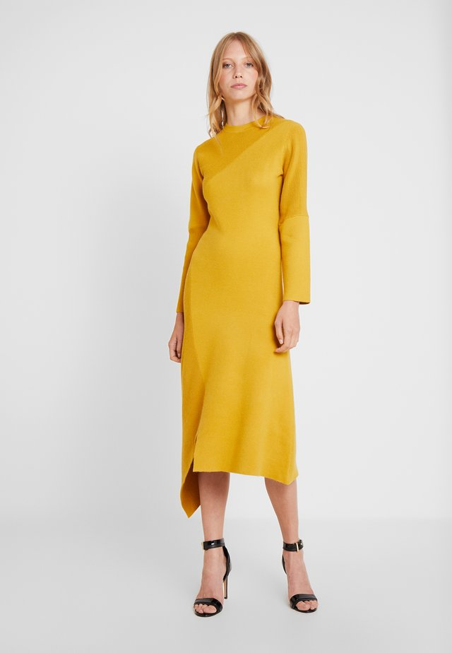 DRESS - Vestito lungo - yellow