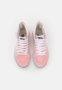 Vans - SK8 ZIP - High-top trainers - powder pink/true white - 3