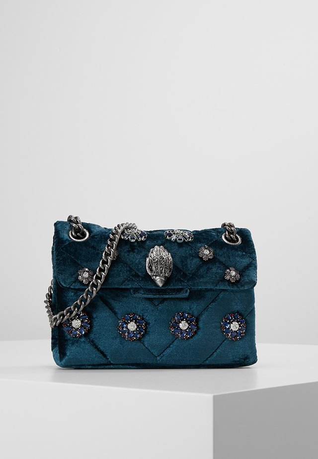 MINI KENSINGTON BAG - Schoudertas - blue