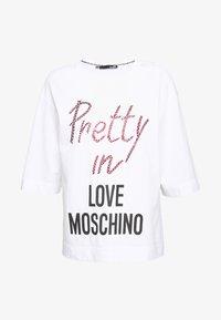 Love Moschino - T-shirt imprimé - optical white - 4