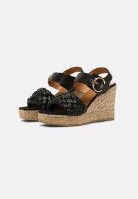 Kanna - SONIA - Platform sandals - schwarz - 2