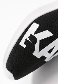 KARL LAGERFELD - VITESSE LEGERE  - High-top trainers - black/white - 2