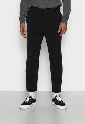 MARD TROUSERS - Pantaloni - black