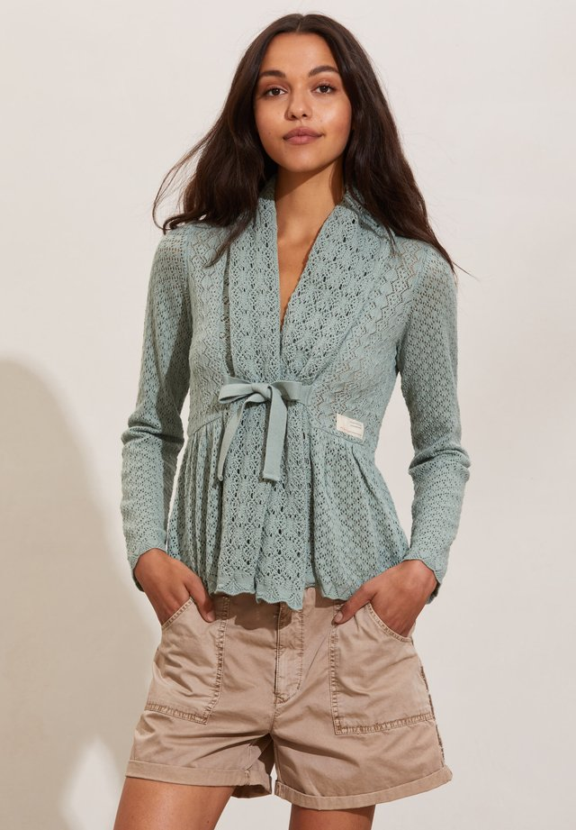 CAN-CAN - Cardigan - washed cargo