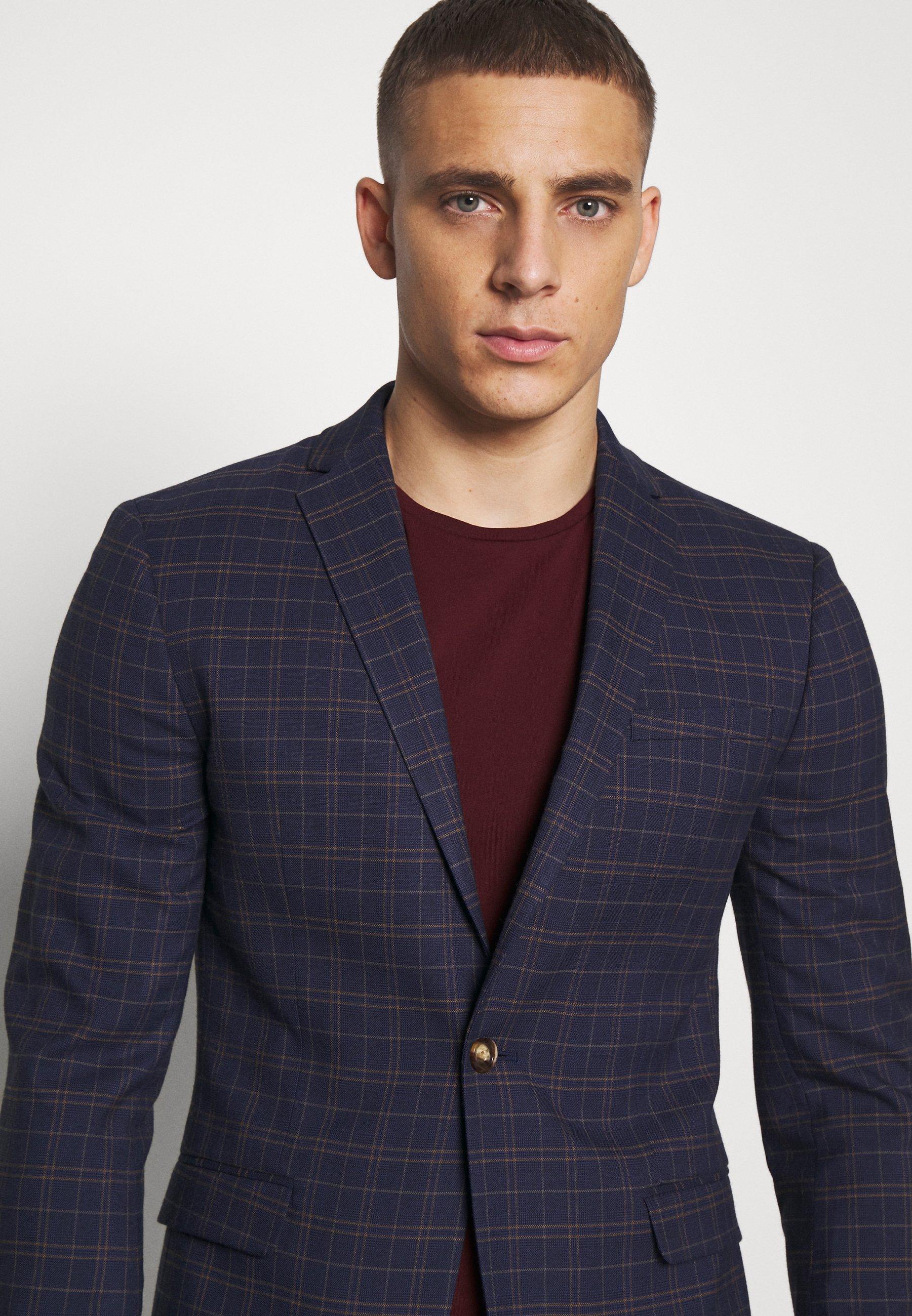 Topman Veste de costume - blue