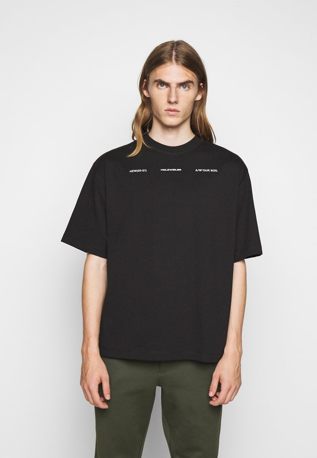 RANGER PRINT TEE - Print T-shirt - black