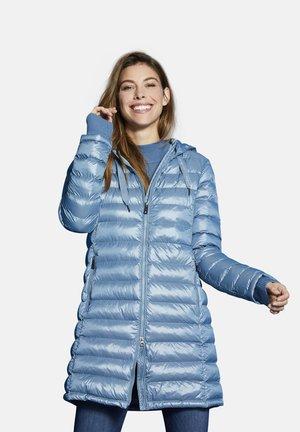 Winter coat - blaugrau