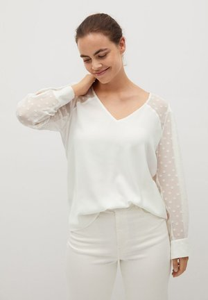 DELICAT7 - Blouse - white