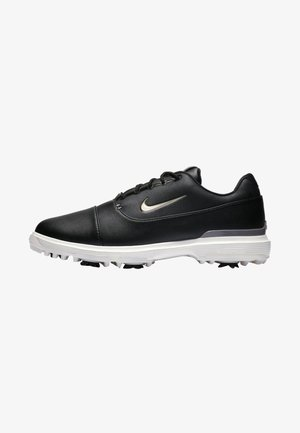 AIR ZOOM VICTORY PRO - Golfové boty - black/off-white/metallic grey