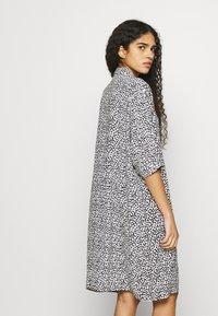 Zign - Shirt dress - white/black - 4