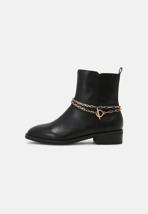 Classic ankle boots - black/gold