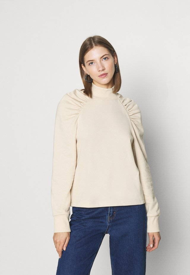 Bluza - solid beige