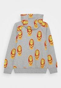 Mini Rodini - FLOWER ZIP HOODIE UNISEX - Zip-up hoodie - grey melange - 1