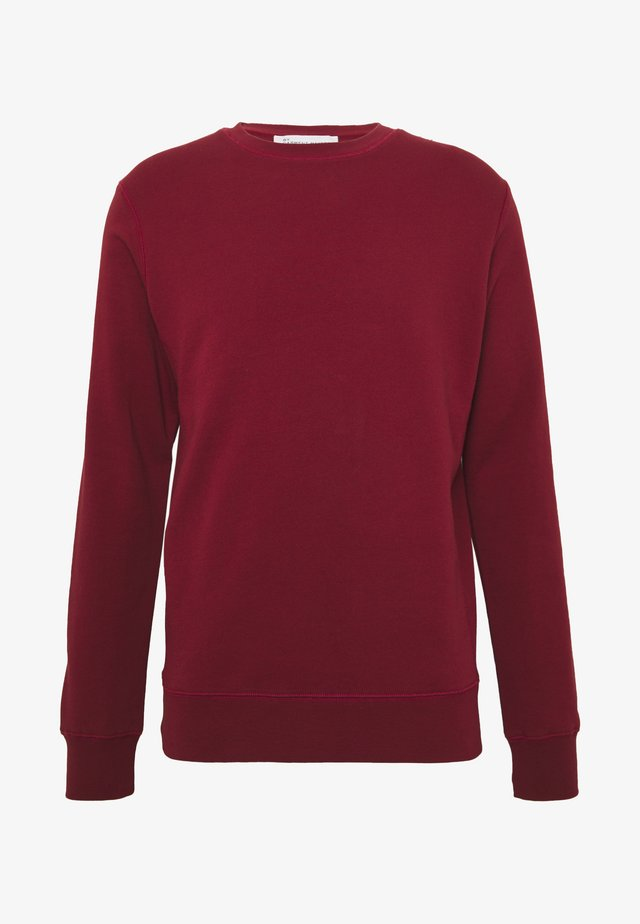 UNISEX THE ORGANIC SWEATSHIRT - Sweatshirt - merlot