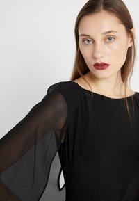 Lauren Ralph Lauren - CLASSIC LONG GOWN COMBO - Suknia balowa - black - 7