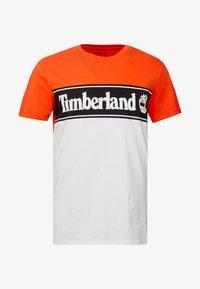 Timberland - CUT & SEW TEE - T-Shirt print - spicy orange - 3