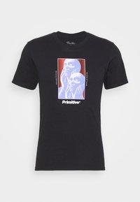 UNION TEE - Print T-shirt - black