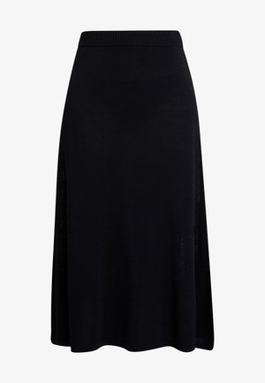 MARY SKIRT - A-line skirt - pitch black