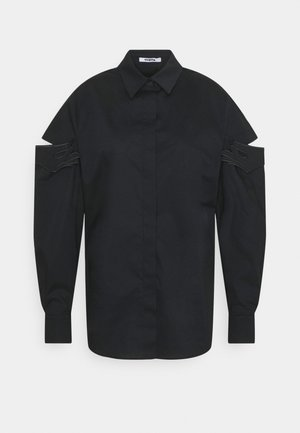 Button-down blouse - nero