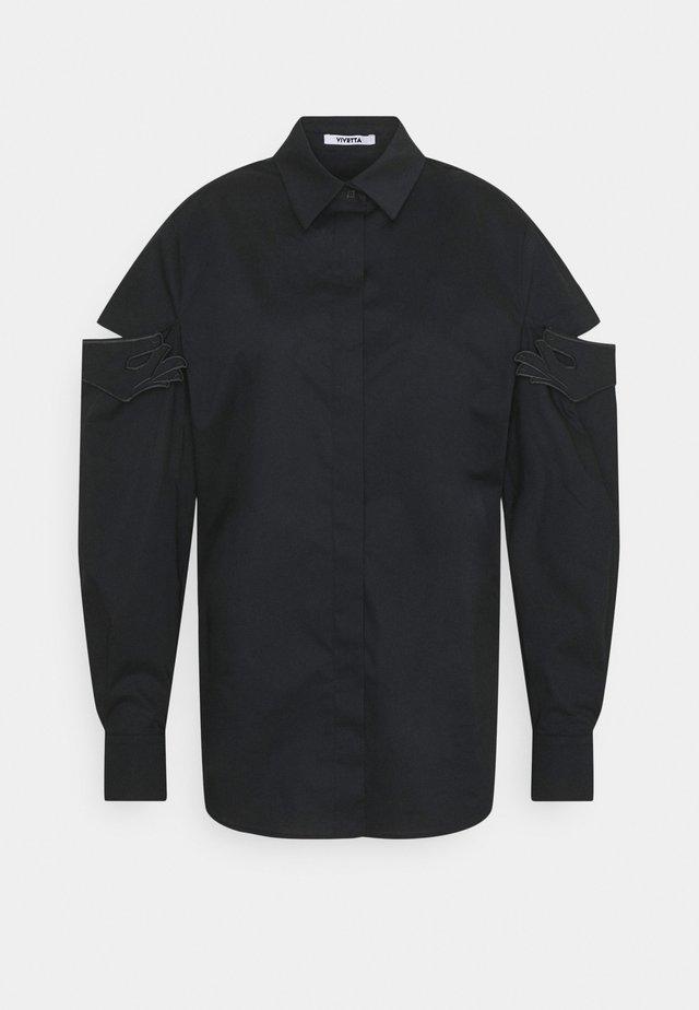 Overhemdblouse - nero
