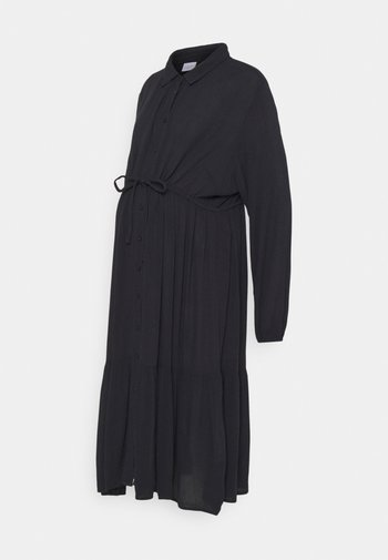 MLFAUNA MIDI DRESS - Shirt dress - dark navy