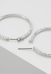 Swarovski - HOOP - Earrings - silver-coloured - 2