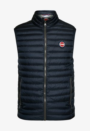 MENS VESTS - Waistcoat - navy blue/light stee