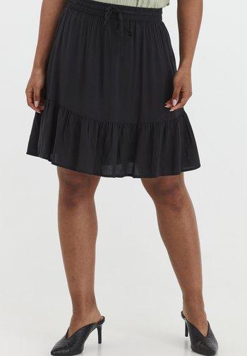 BYMMJOELLA  - Mini skirt - black