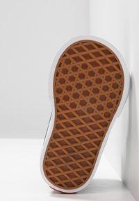 Vans - TD SK8 ZIP - Chaussures premiers pas - black/white - 5