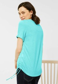Cecil - Basic T-shirt - türkis - 2