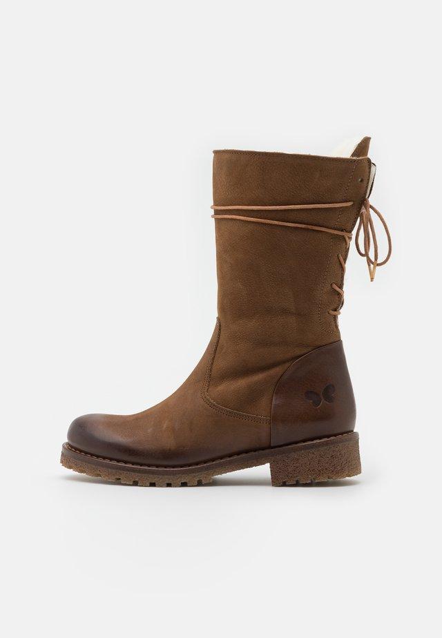 CASTER  - Winter boots - morat/belga cobre/weiß