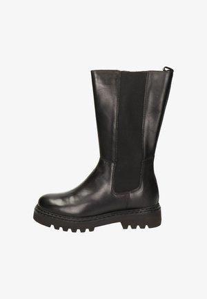 CHELSEA - Platform boots - zwart