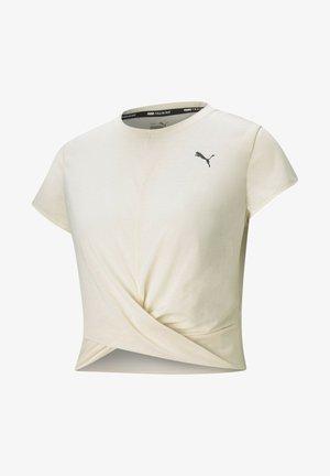 TWISTED  - Print T-shirt - eggnog