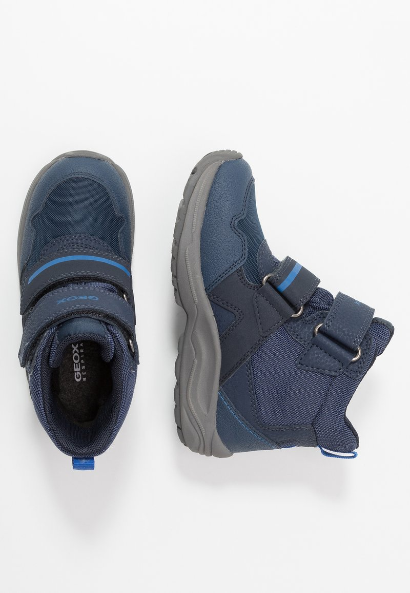 Geox - KURAY BOY - Winter boots - navy/royal