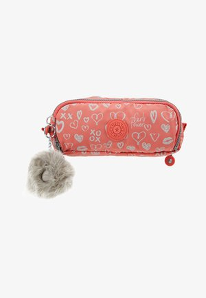 GITROY - Pencil case - hearty pink mett